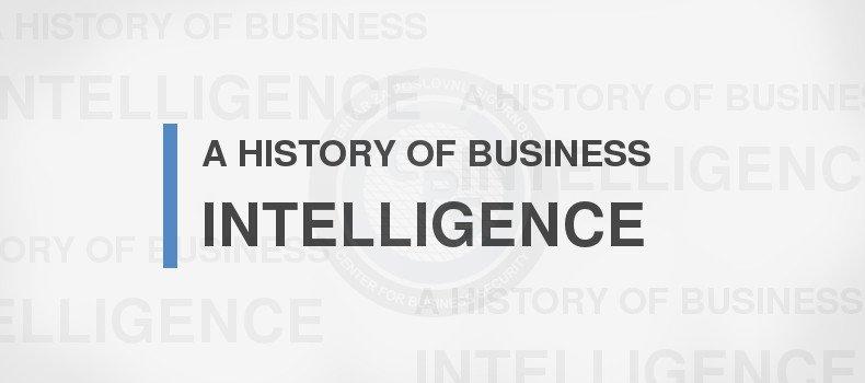 Povijest poslovno-obavještajne djelatnosti u hrvatskom gospodarstvu